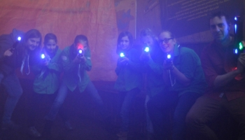Lasergamen in de Wigwam