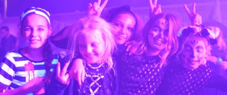 Halloween discofeest met de bevers en welpen