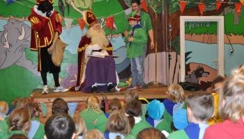 Sinterklaas in de Wigwam