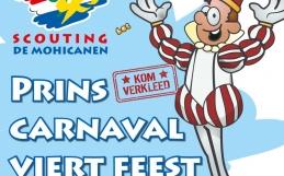 Vier feest met Prins Carnaval bij De Mohicanen op 17 februari